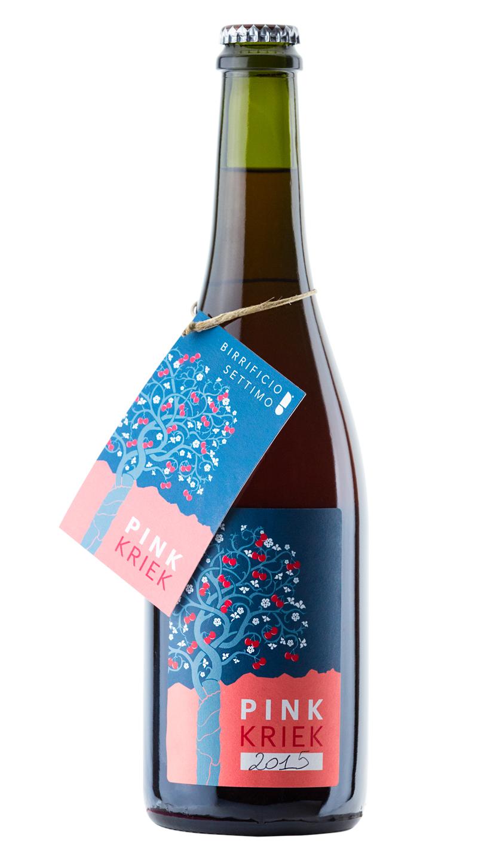 Pink Kriek, bottiglia